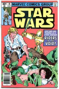 STAR WARS #38, FN+, Luke Skywalker, Darth Vader, 1977,  more SW in store