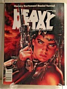 1990 Sep HEAVY METAL Royo cover ADAMOV & COTHIAS Daniel Torres