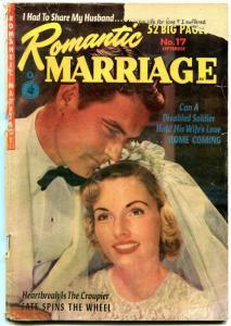 Romantic Marriage #17 1952-Golden Age Romance-  G