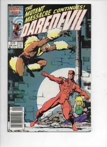 DAREDEVIL #238 VF/NM  Murdock, Sabretooth, 1964 1986, more Marvel in store