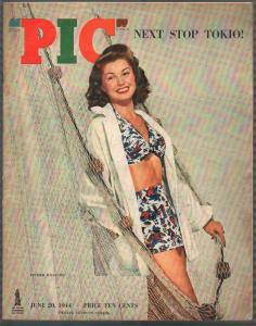 PIC 6/20/1944-Street & Smith-cheesecake-exploits-oversized-Esther Williams-FN