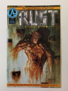 Rust #1 Adventure Comics 1992 First Appearance Spawn In Ad VF/VF+
