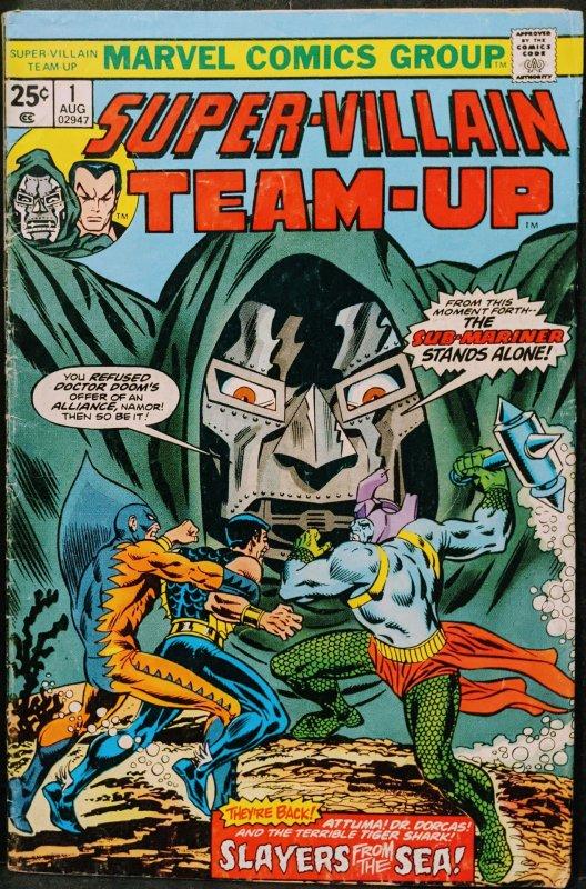 Super-Villain Team-Up #1 (1975) F
