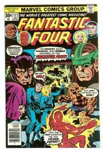 Fantastic Four 177   1st Texas Twister & Captain Ultra