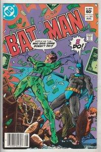 Batman #362 (Aug-83) NM- High-Grade Batman, Robin the Boy Wonder