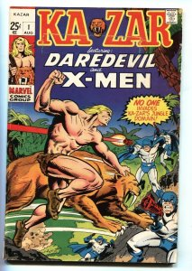 KA-ZAR #1-Romita-Comic book-Marvel 1970