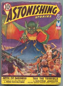 Astonishing Stories Pulp December 1942-Abyss of Darkness