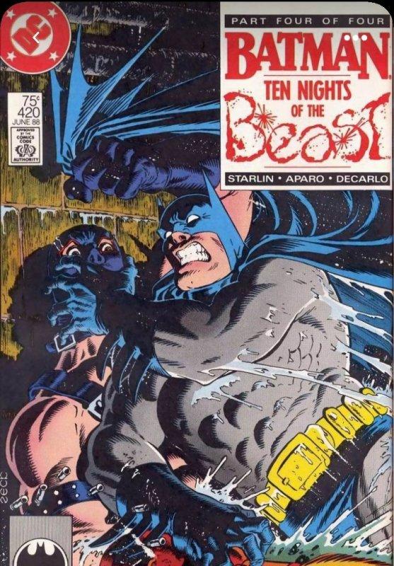 Batman VF  #417, #418, #419 #420 (1988)