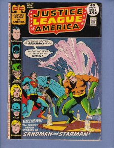 Justice League of America #94 GD/VG 1st Appearance of Merlyn Neal Adams DC 1971