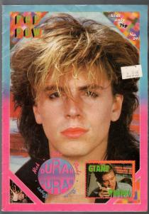 Pop Wow #19 1980's-Duran Duran-poster magazine-printed in UK-FN