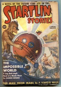 Startling Stories Pulp #2 March 1939- Impossible World G-