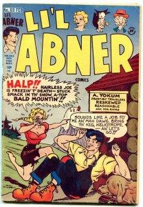 LI'L ABNER #69 1948-HARVEY COMICS-AL CAPP ART--DOGPATCH VG
