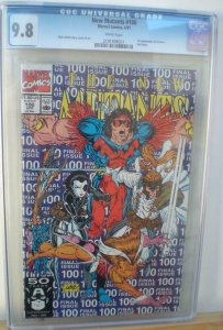 NEW MUTANTS #100, CGC = 9.8, NM/M, 1st X-Force, Cable, 1983 , more CGC in store