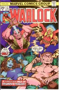 WARLOCK  (1972) 12 VF-NM STARLIN April 1976 COMICS BOOK