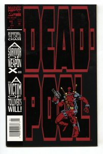 Deadpool: The Circle Chase #1 First solo comic 1994 VF/NM
