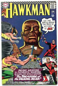 HAWKMAN #14 1964-DC COMICS-MURPHY ANDERSON-TALKING HEAD TREASURE-very good VG/FN