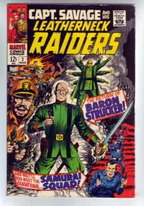 Captain Savage and His Leatherneck Raiders #2 (Mar-68) VG/FN+ Mid-Grade Capta...