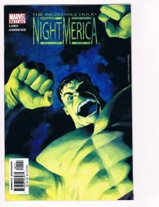 Incredible Hulk: Night-Merica # 1 Marvel Comic Books Hi-Res Scans WOW!!!!!!! S22