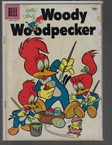 Woody Woodpecker #42 (Dell, 1957) GD/VG