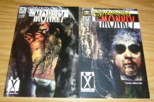 Shock the Monkey #1-2 VF/NM complete series - millennium comics anthology set