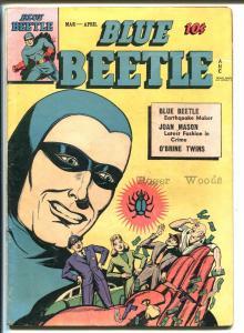 Blue Beetle #41 1946-Fox-Joan Mason-Daily Planet-3 Blue Beetle stories-FN MINUS