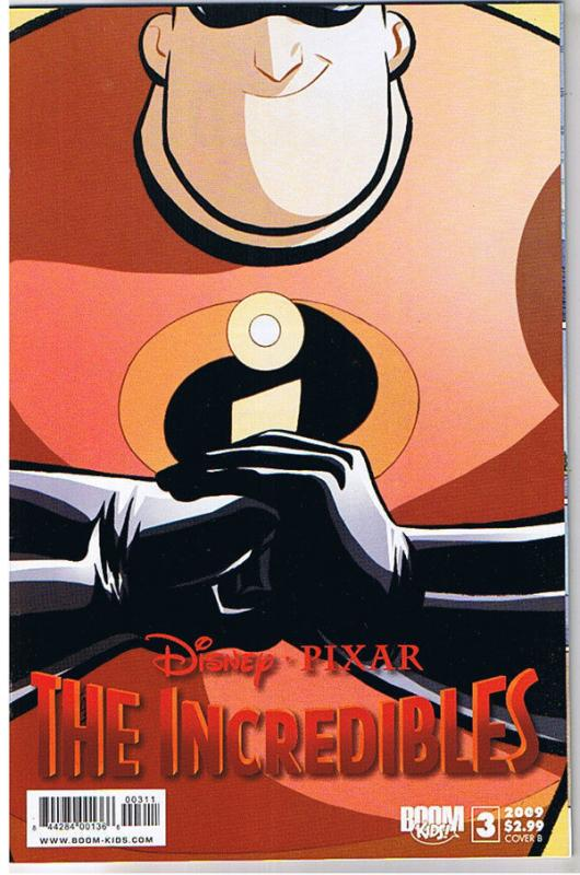 The INCREDIBLES #3 B, NM, Disney Pixar, Boom Studios, 2009, more in store