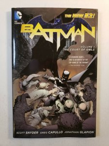 BATMAN VOL.1 THE COURT OF OWLS NEW 52 HARD COVER GRAPHIC NOVEL
