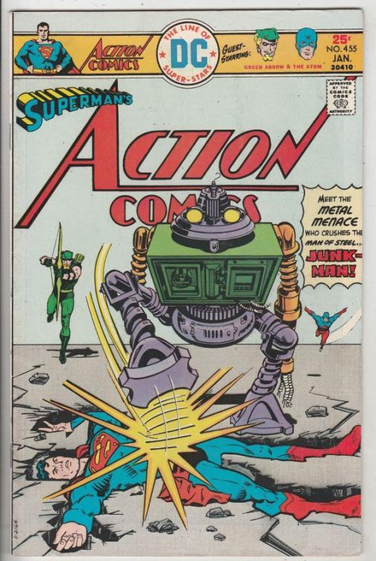Action Comics #455 (Jan-76) VF/NM High-Grade Superman