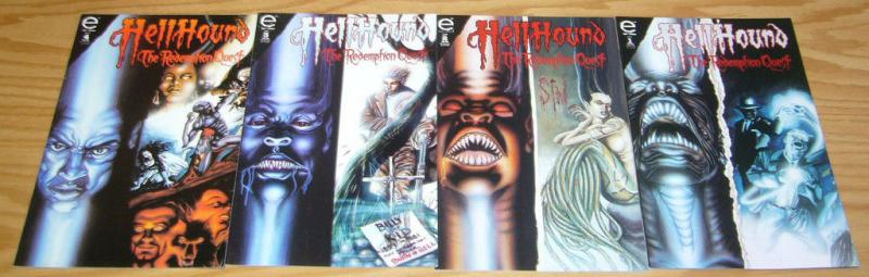 Hellhound: the Redemption Quest #1-4 VF/NM complete series 1993 EPIC COMICS
