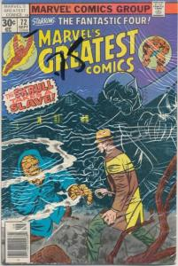 Marvel's Greatest Comics #72 Staring Fanastic Four Fine/Very Fine (7.0) (088J)