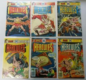 Hercules Unbound, Set:#1-12, 4.0 (1975)