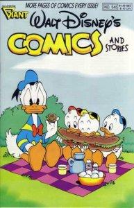 Walt Disney's Comics and Stories #545, NM- (Stock photo)