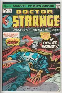 Doctor Strange #12 (Feb-76) FN Mid-Grade Dr.Strange