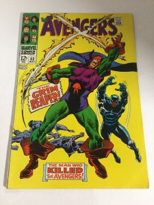 Avengers 52 Fn Fine 6.0 Bottom Staple Punched Marvel Comics Silver Age