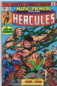 Marvel Premiere #26 ORIGINAL Vintage 1975 Marvel Comics Hercules