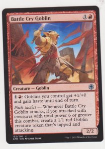 Magic the Gathering: Adventures in the Forgotten Realms - Battle Cry Goblin