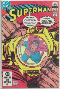 Superman   vol. 1   #384 VG, Kane cover