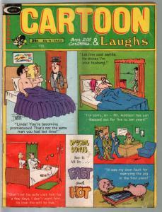 Cartoon Laughs 2/1973-Don Orehek-Dan DeCarlo-cartoons-comics-gags-VG