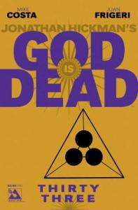 God is Dead #33, NM (Stock photo)