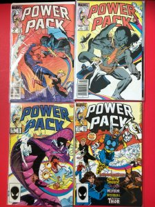 POWER PACK [LOT OF 6] #'s 6x2,7,9x2,19, 1984  MARVEL / MID++ QUALITY