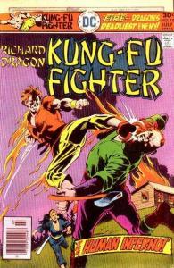 Richard Dragon: Kung-Fu Fighter #10, VF (Stock photo)