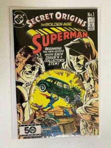 Secret Origins #1 2nd Series DC minimum 9.0 NM (1986) Superman