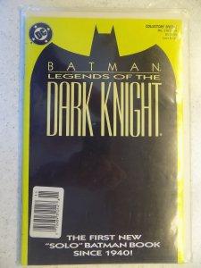 BATMAN LEGENDS OF THE DARK KNIGHT # 1