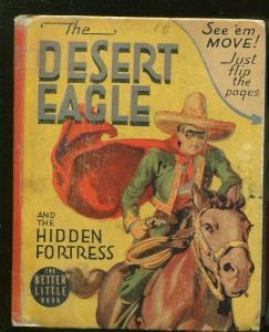DESERT EAGLE-BIG LITTLE BOOK-#1431-1941-HIDDEN FORTRESS-SECRET IDENTITY-good