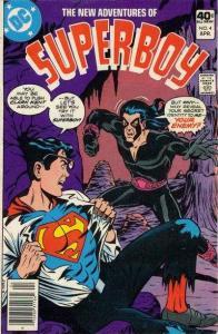 New Adventures of Superboy #4, VF (Stock photo)