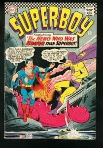 SUPERBOY #132 1966-DC SILVER AGE-1st SUPREMO-VG/FN