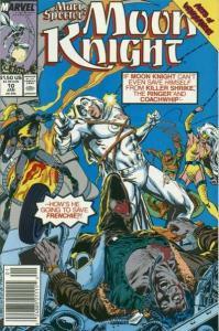 Marc Spector: Moon Knight #10, NM- (Stock photo)