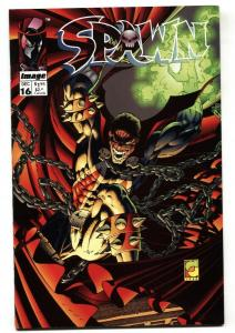 SPAWN #16-1993-Image-1st appearance of Anti-Spawn