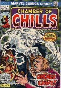 Chamber of Chills (1972 series) #4, NM- (Stock photo)