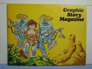 Graphic Story Magazine #10 Spring 1969 VAUGHN BODE Art Rare Underground Comix!!!